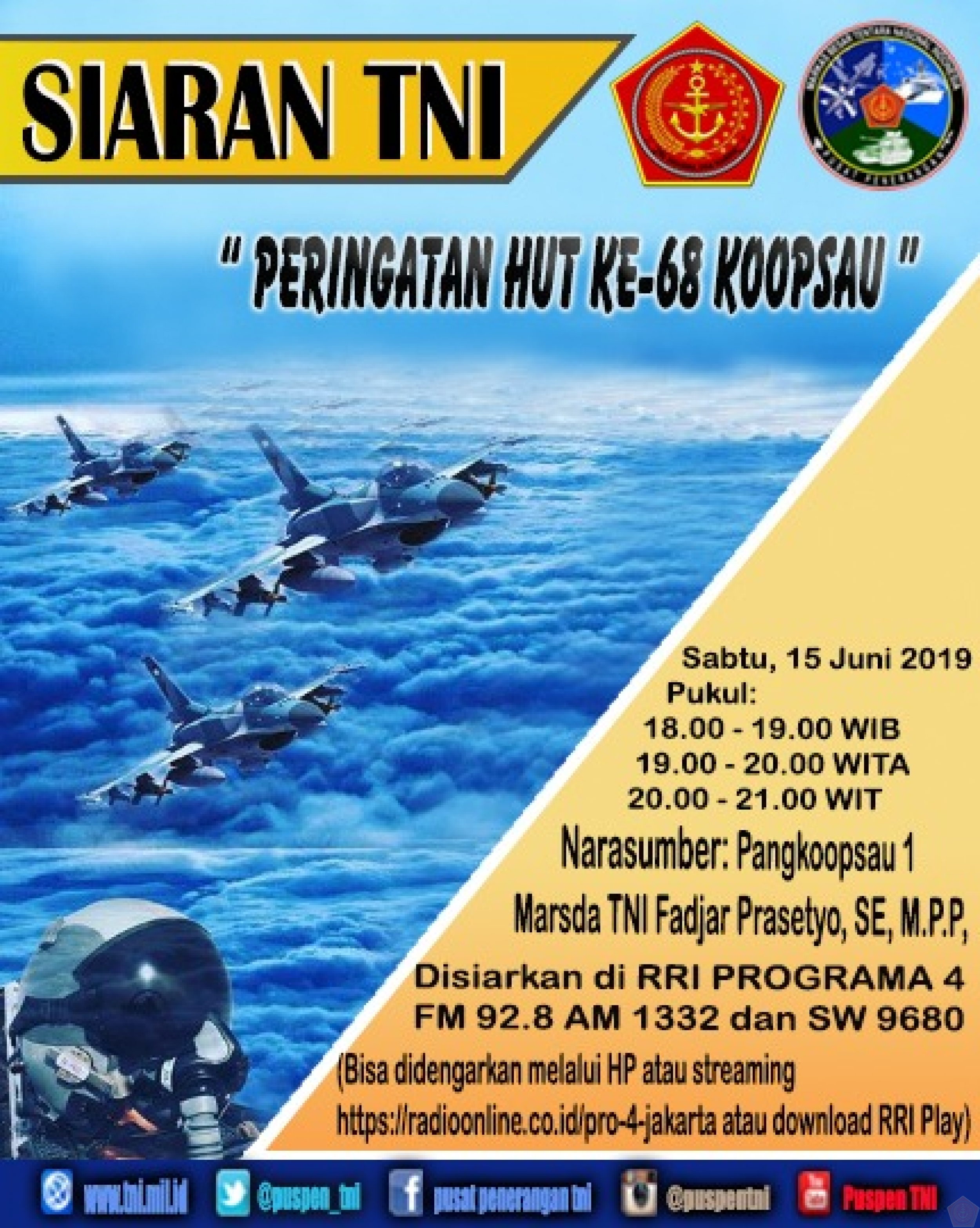SIARAN   TNI  DI  RRI PROGRAM  4