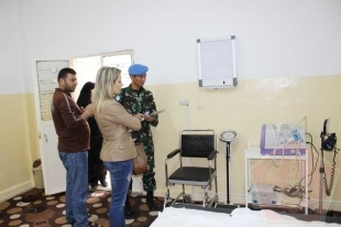 "Proyek ""Equipping Medical Dispensary"" Di Sector East Lebanon"