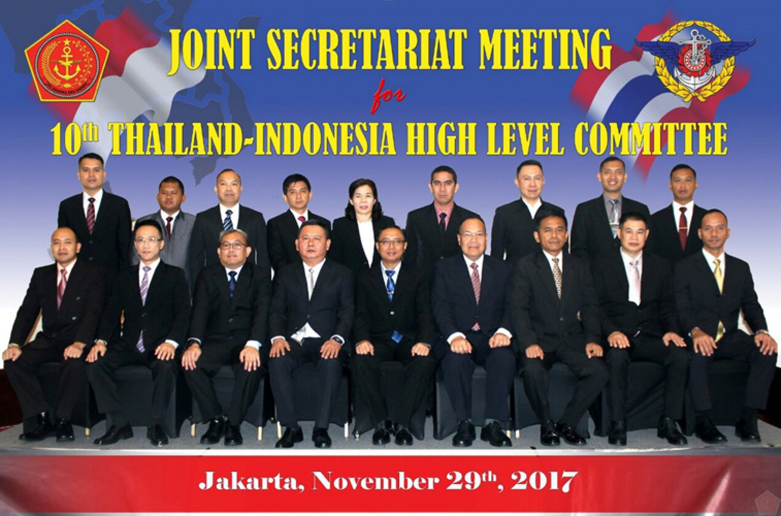 Puskersin TNI Melaksanakan Joint Secretariat Meeting (JSM) for the 10th  Thailand –Indonesia High Level Committee (Thainesia HLC) Meeting