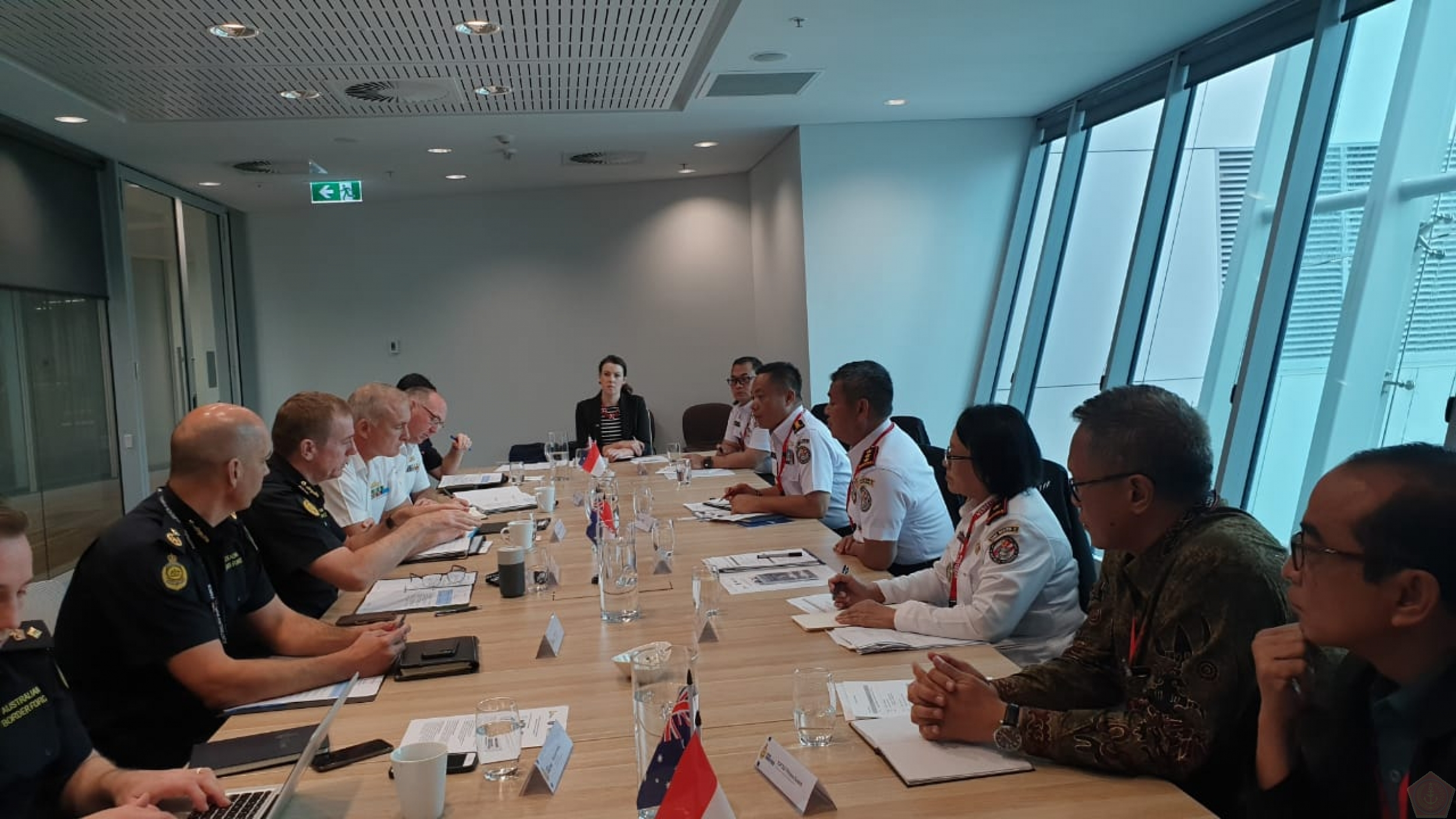 3rd Senior Official Meeting Bakamla dan ABF di Canberra