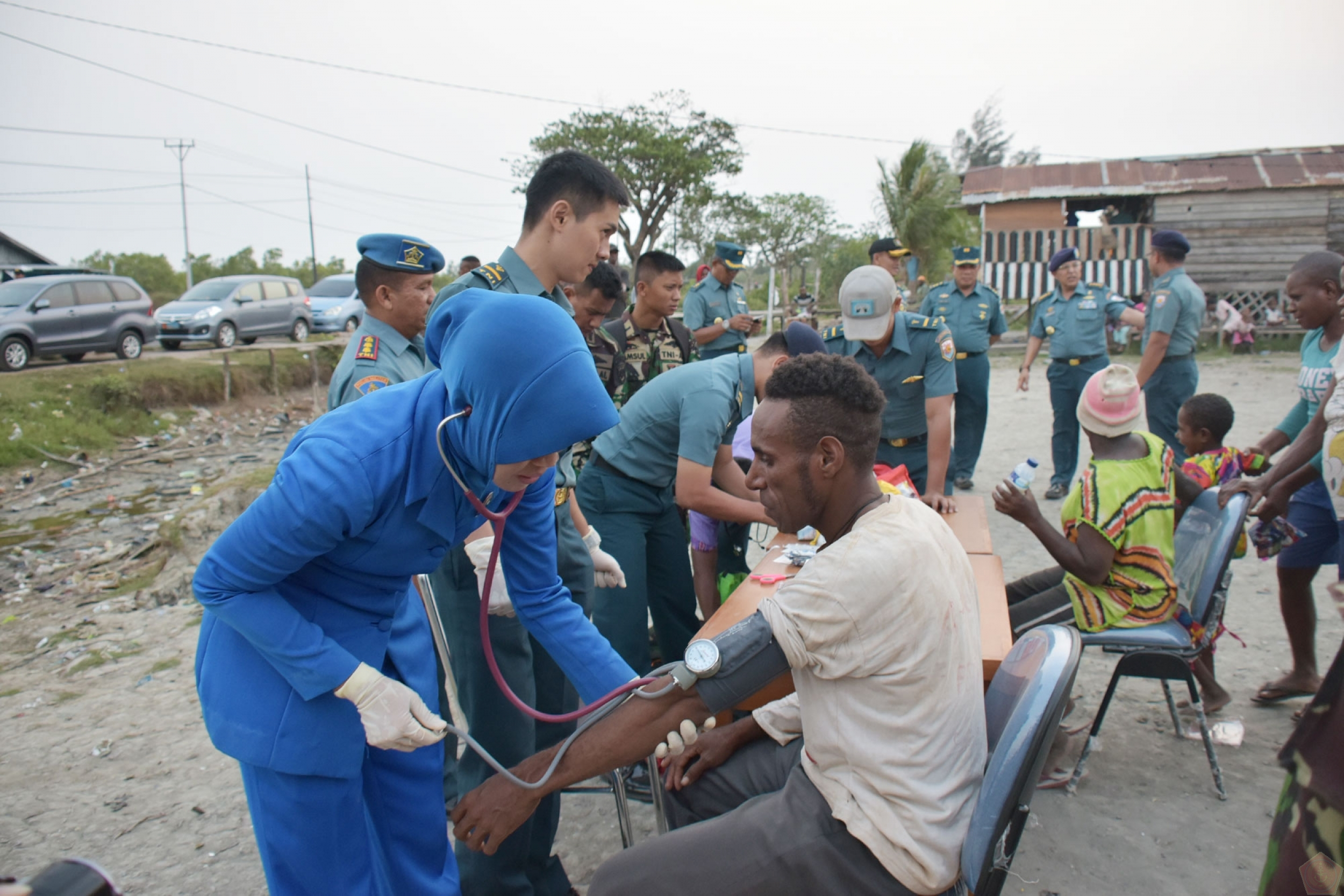 Baznas sends logistic and medical team to Asmat