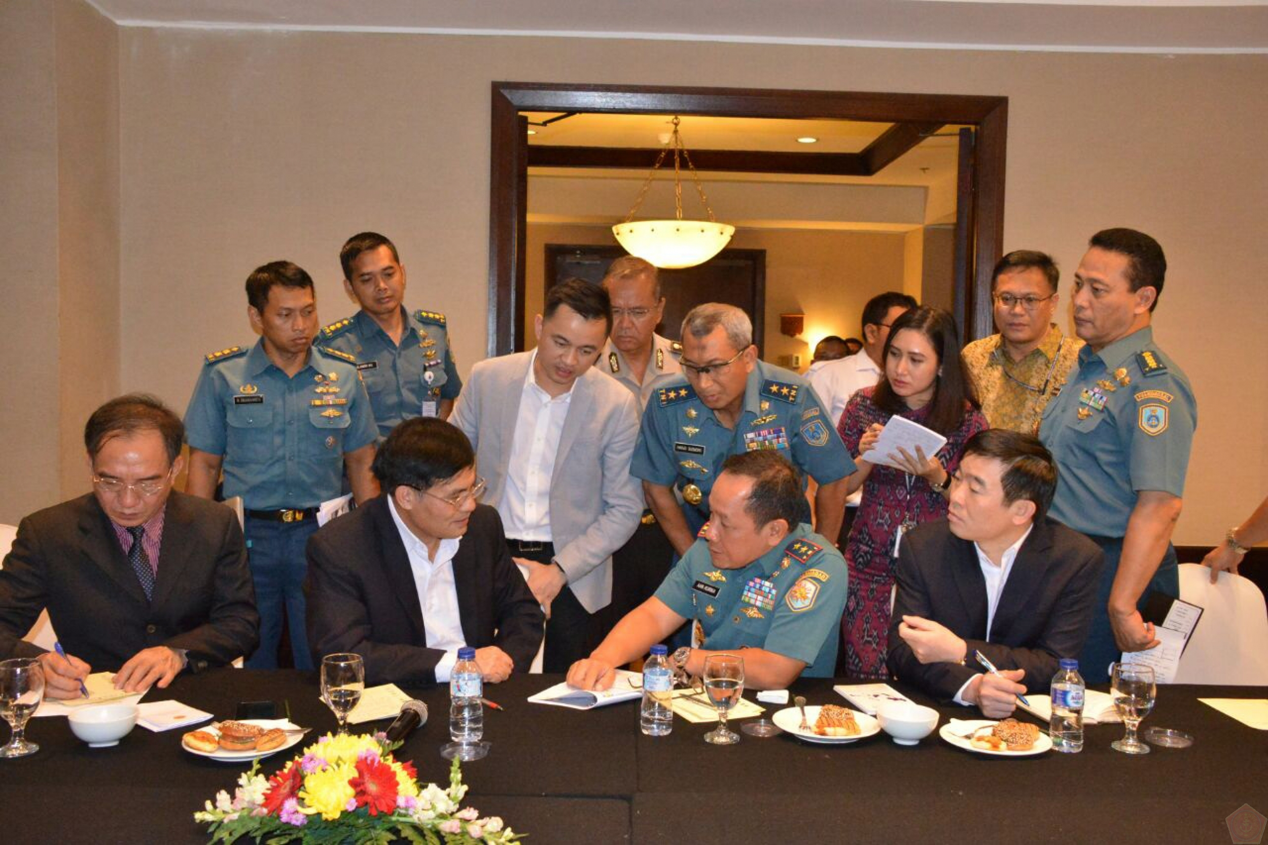 Pangarmabar Mengikuti Informal Discussion Antara Bakamla RI Dengan Vietnam Coast Guard