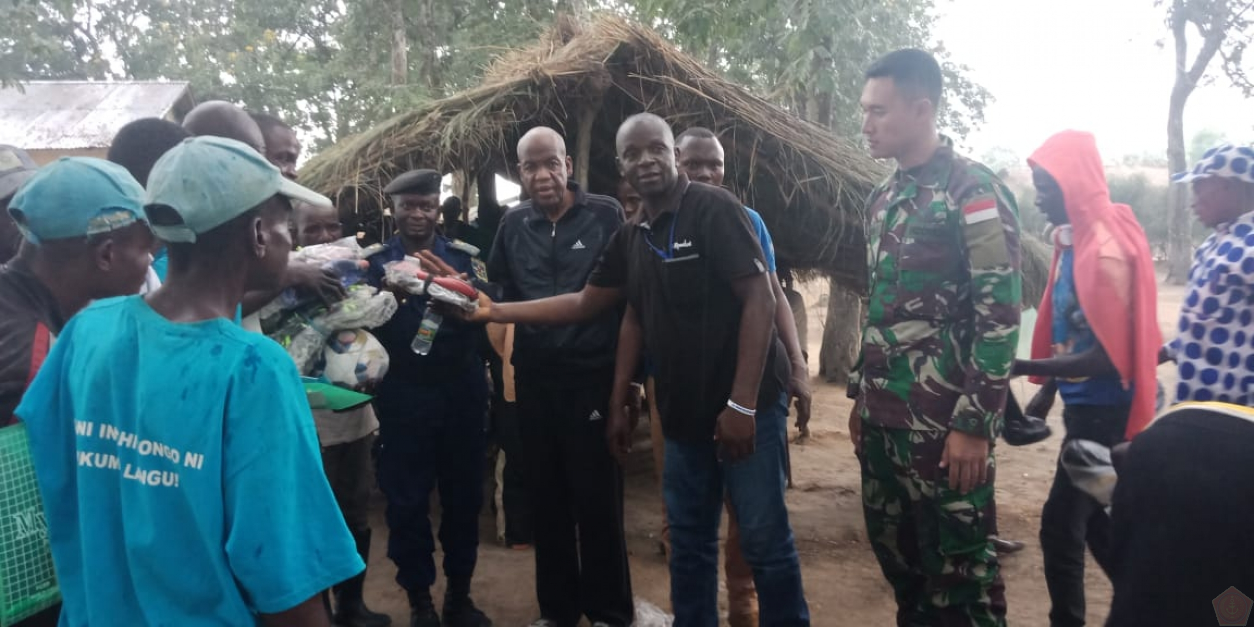 Satgas  TNI  Konga XXXIX-A RDB Monusco  Gelar Joint Activity Mission Baraza Di Republik Demokratik Kongo