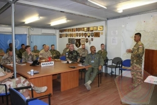 Briefing Komandan Cimic Unit Dengan OGL