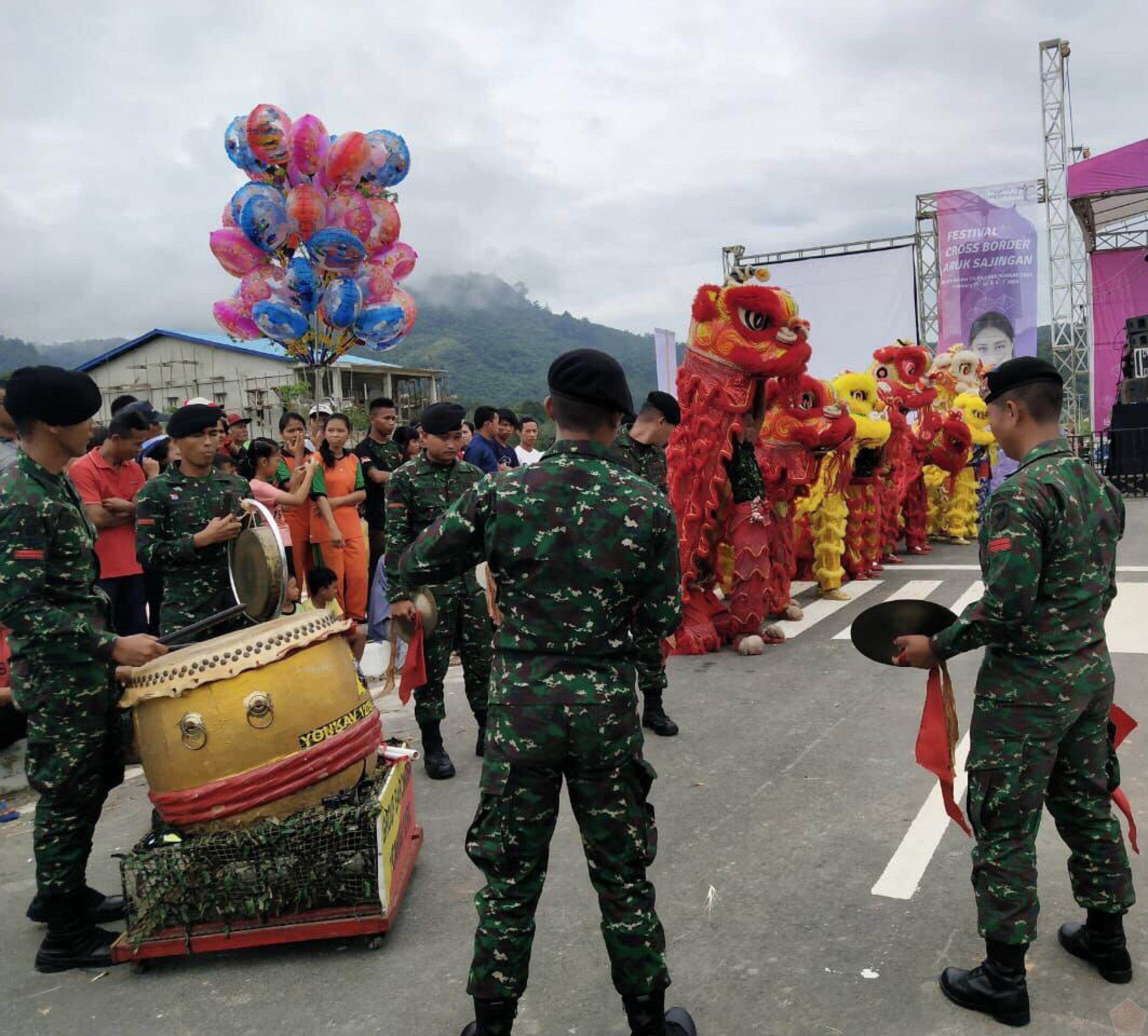 Barongsai Yonkav 12/BC Festival Wonderful Indonesia 2019