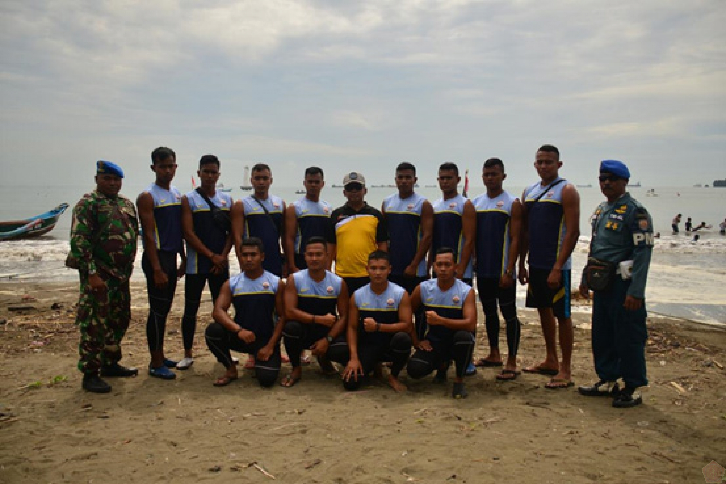Danlanal Cilacap Hadiri Cilacap Dragon Boat Race Open Tourmament 2019