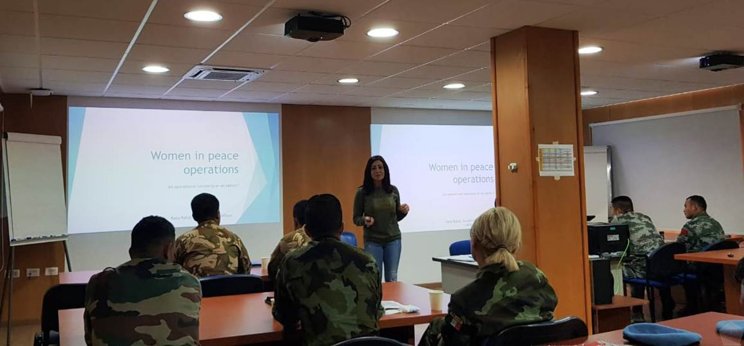 Konga  UNIFIL  Selenggarakan  CIMIC Induction Training di Naqoura Lebanon Selatan