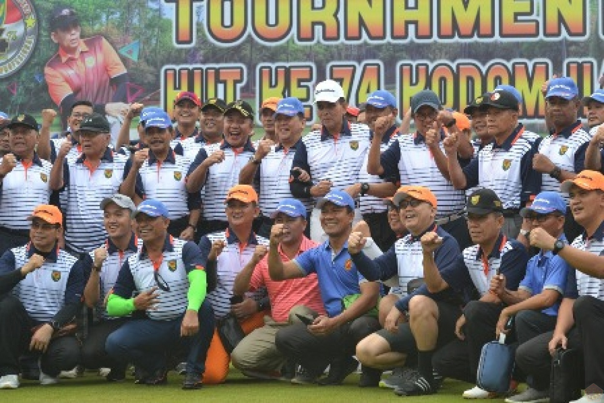 HUT Ke-74, Kodam II/Sriwijaya Gelar Turnament Golf