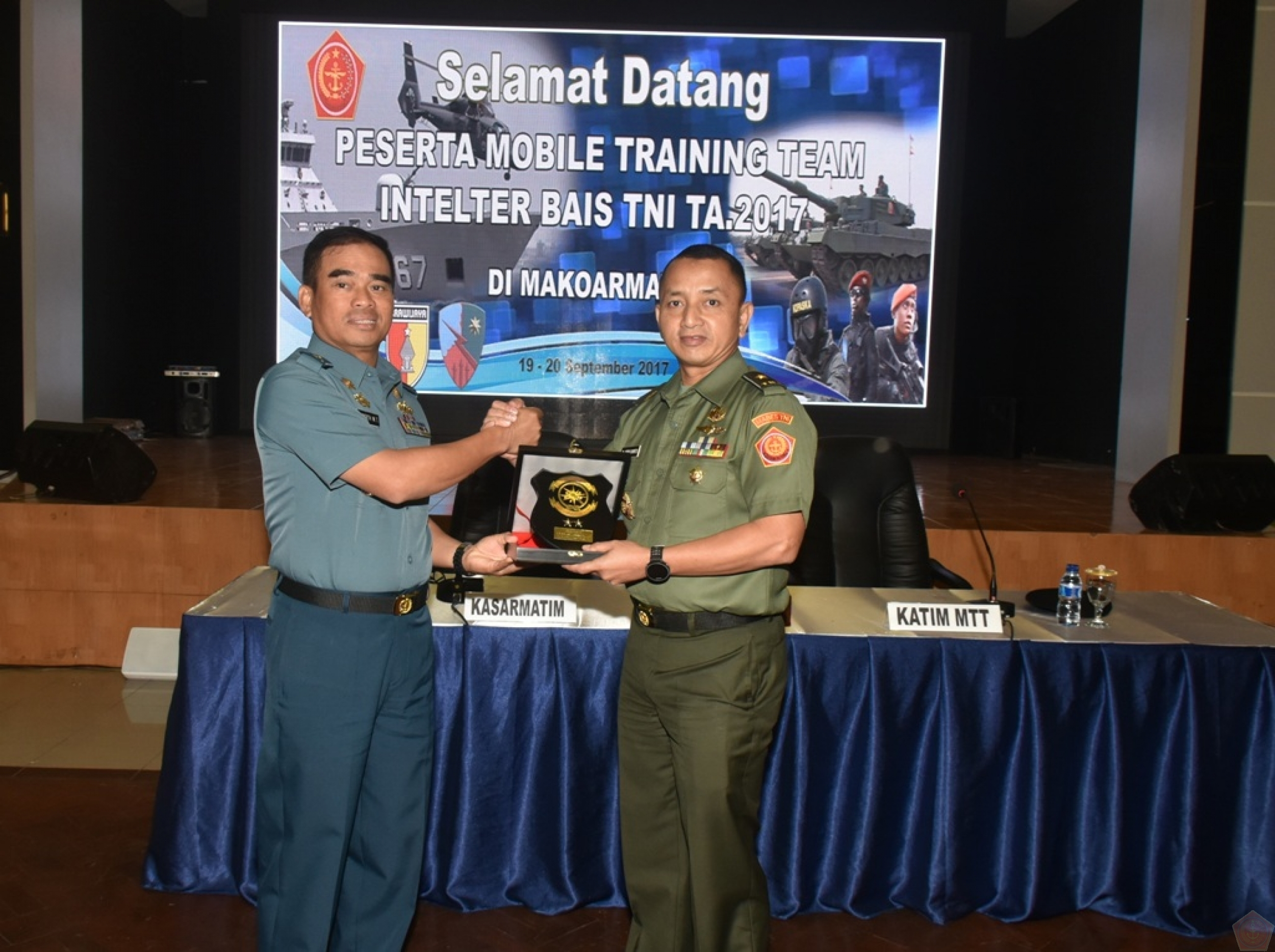 Mobile Training Team (MTT) Intelijen Teritorial Berlangsung Di Koarmatim