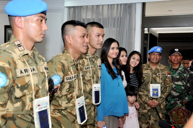 Panglima TNI Resmikan Shooting Perdana Film I Leave My Heart in Lebanon